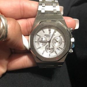 Audemars piguet automatic royal oak silver